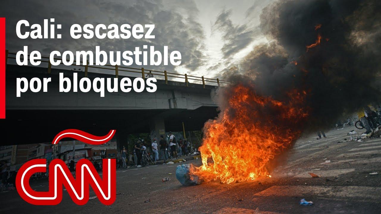 Desabastecimiento en Cali, Colombia tras dos semanas de bloqueos por Paro Nacional