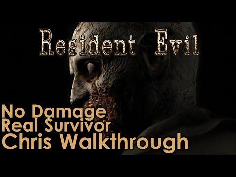 Resident Evil Remaster Chris Walkthrough