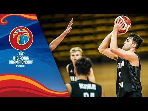Philippines v New Zealand - Full Game - Class 3-4 - FIBA U16 Asian Championship