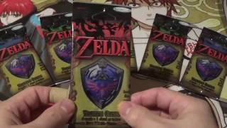 Enterplay RARE single Booster pack The Legend of Zelda Trading Cards 2016
