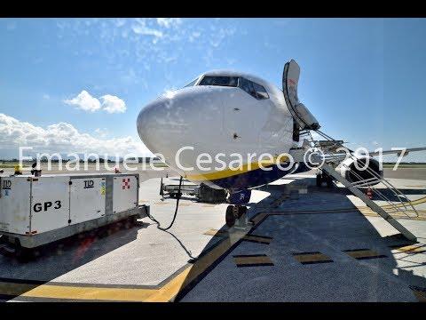 Trip report | Ryanair B737-800 | Milano Bergamo (BGY) to Lamezia (SUF) | Standard economy
