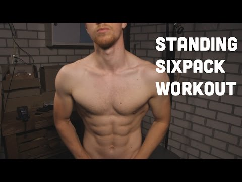 Six-Pack Abs Workout: Standing Abdominal Training!