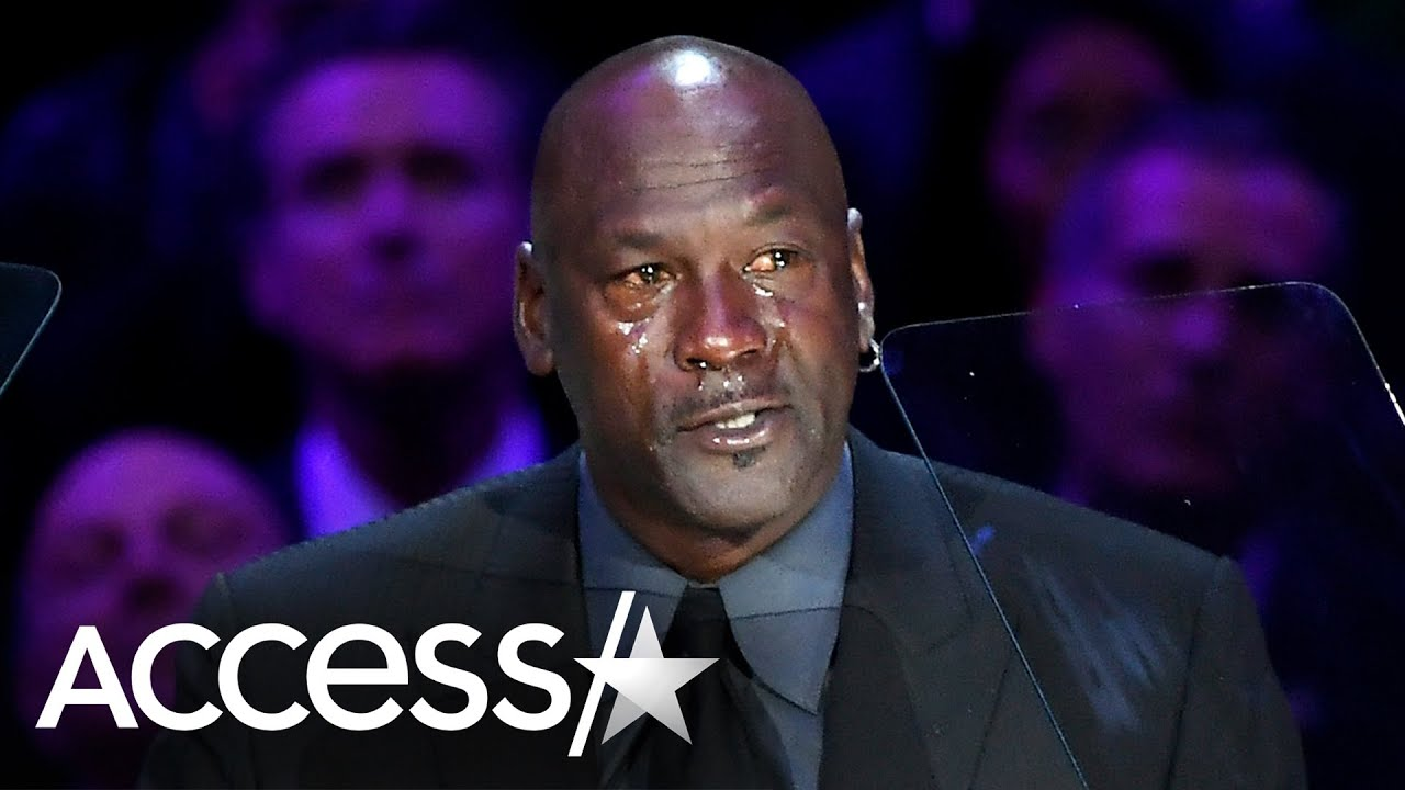 Michael Jordan Says His Kobe Tribute Will Be 'Another Crying Meme': His Emotional Memorial Speech
