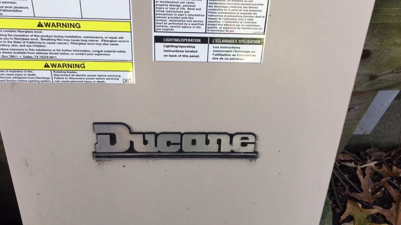 ducane furnace problem solved [ 1280 x 720 Pixel ]
