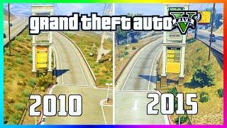 GTA 5 In 2015 vs 2010! - Awesome Comparison of Pre-Released GTA vs Next Gen Version! (GTA 5)