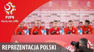 Konferencja reprezentacji Polski (Katowice, 25.03.2018)
