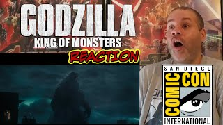 GODZILLA KING OF THE MONSTERS -OFFICAL TRAILER#1 REACTION