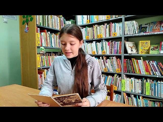 Изображение предпросмотра прочтения – АнастасияУбасева читает произведение «Я шел среди высоких гор» И.С.Тургенева
