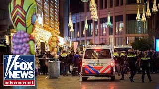Dutch police search for male suspect after stabbing attack in The Hague
