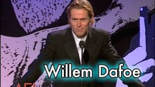 Willem Dafoe Salutes Martin Scorsese at the AFI Life Achievement Award streaming