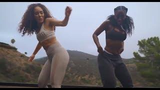 Bria Myles & Kreesha Turner dancing to African music