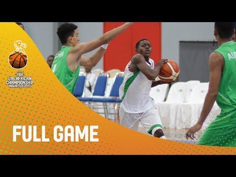 Madagascar v Algeria - Full Game - FIBA U16 African Championship 2017