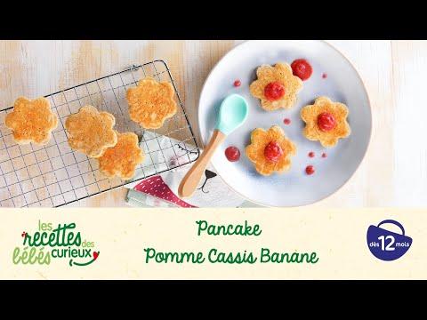 recette-bébé-:-pancake-pomme-cassis-banane