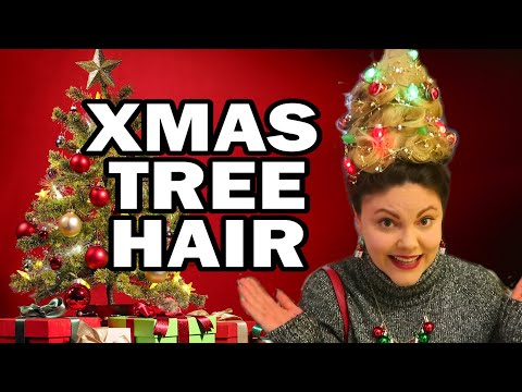 Turning My Hair Into An Xmas Tree