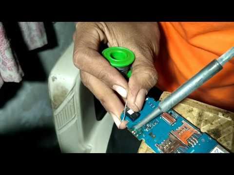 Samsung 1282E auto charging problem solution
