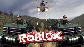 Roblox | RED VS BLUE WARFARE! (Roblox Helicopters, Tanks, Jeeps)