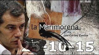 La Marimorena 13tv 25/10/15 | Toni Cantó | Dolores Agenjo  | Financiación CDC |  Irene Lozano