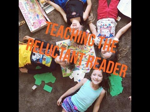 Tips for teaching  reluctant reader  reading games homeschooling