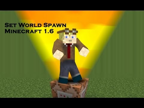 how to set spawn with command blocks