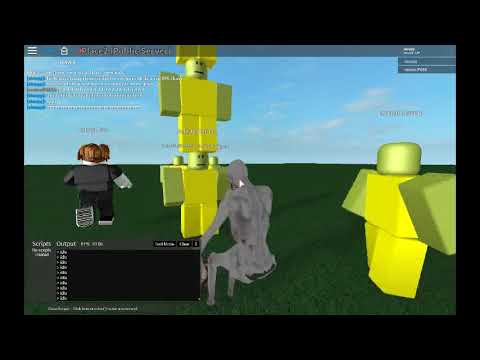 Roblox Script Scp 096 In Map Void Script Builder Youtube