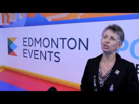 Why the City of Edmonton loves to host sports events