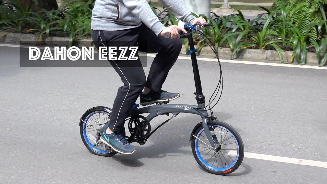 Dahon Eezz D3 Folding Bike Review A Perfect Brompton Alternative Youtube