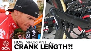 Is Crank Length Important To Professional Cyclists?