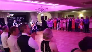 "THE KELTS BAND :  ""THE ONE, KODALINE"".  FIRST DANCE MARTINA & RICHARD  Devon Inn"