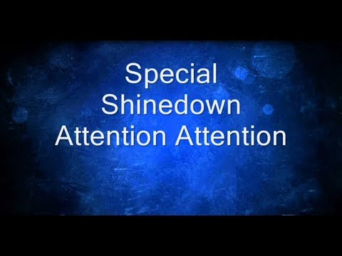 """SPECIAL"" - SHINEDOWN - OFFICIAL LYRICS"