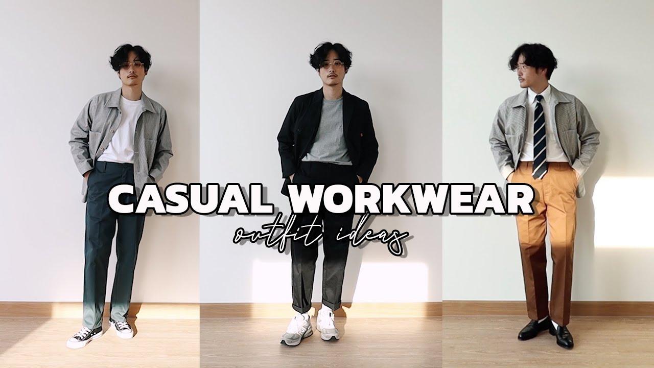 CASUAL OUTFIT IDEAS แต่งตัว Casual Workwear สไตล์ญี่ปุ่น | TaninS