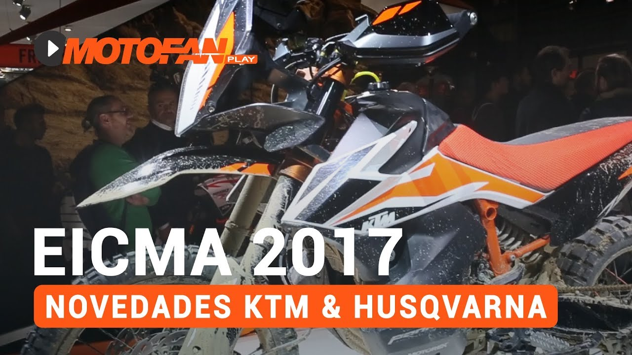 novedades ktm husqvarna 2018 sal n eicma 2017 youtube. Black Bedroom Furniture Sets. Home Design Ideas