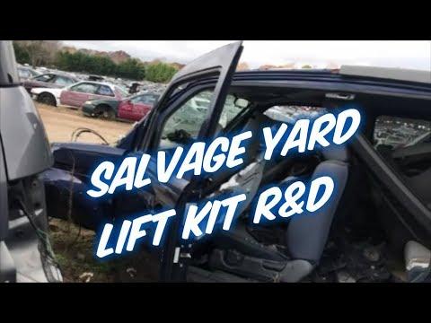 Honda Element lift kit R&D (2018)