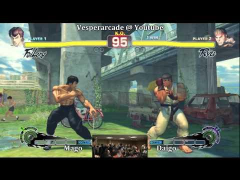 Mago(Fei-long) vs Daigo(Ryu) Grand Finals Part 1 $100 High Rollers Tournament