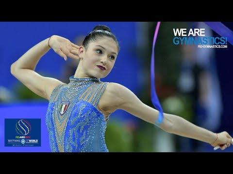 2017 Rhythmic Worlds, Pesaro (ITA) - All-around Final (Top 13-24), Highlights - We Are Gymnastics !