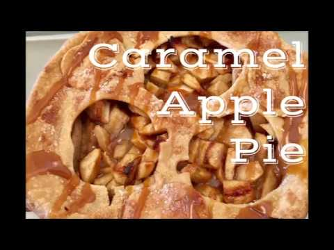 Easy Apple Pie with Salted Caramel Sauce