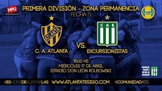 #FútbolFemenino | Atlanta - Excursionistas