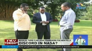 Mudavadi says there is no legal framework for new elections