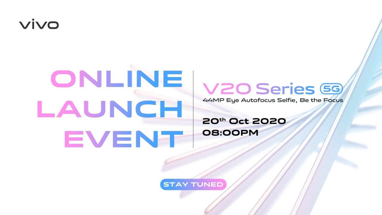 vivo V20 Series Online Product Launch