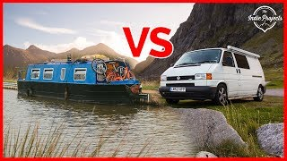 VAN LIFE OR BOAT LIFE? WHICH IS BEST?!