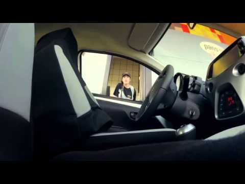 AYGO Invisible Driver Prank In Europe