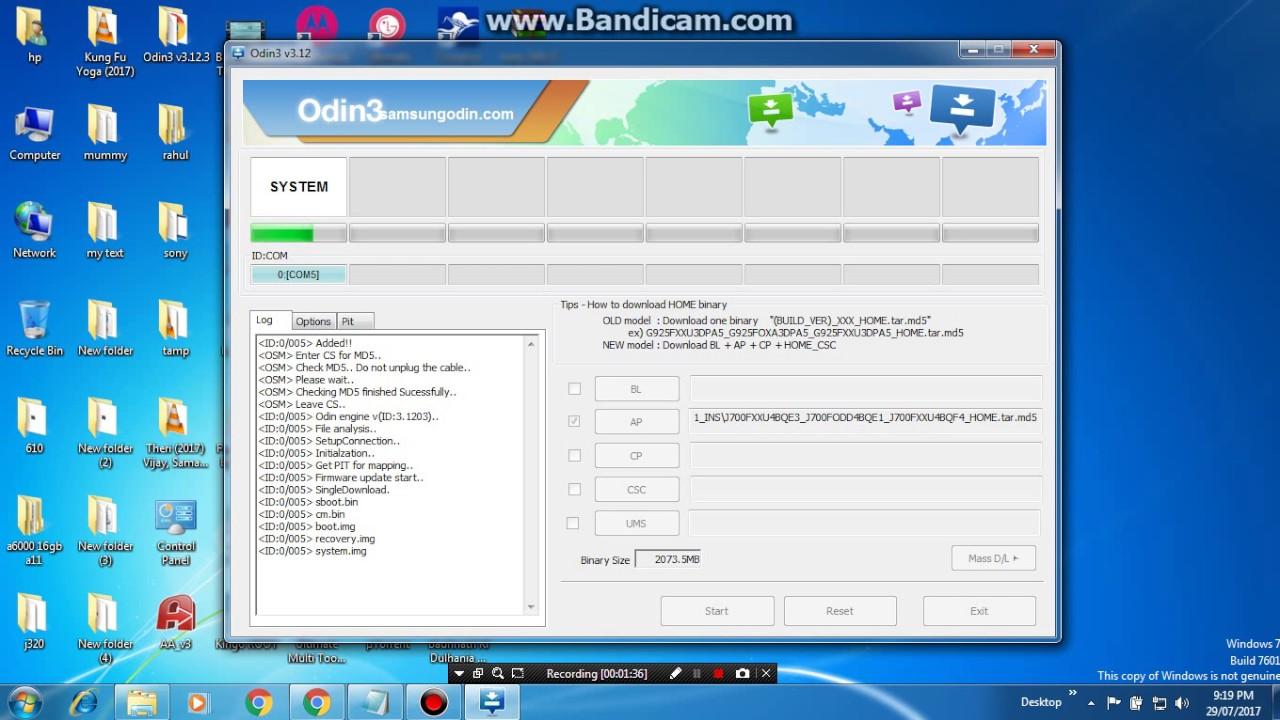 how to make samsung frp combination file by mobile software tutorial