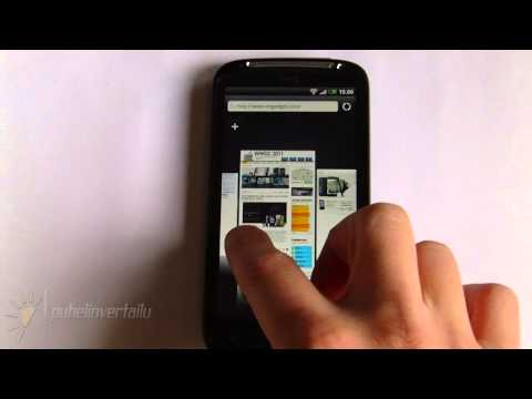 HTC Sensation Browser