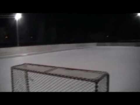 Comment faire une patinoire ext en faisant sont n for Patinage exterieur