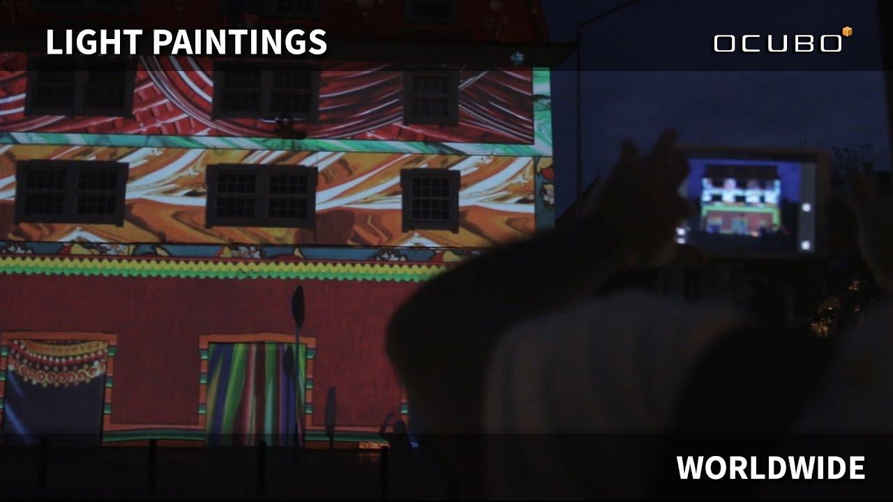 OCUBO   Light Paintings Worldwide