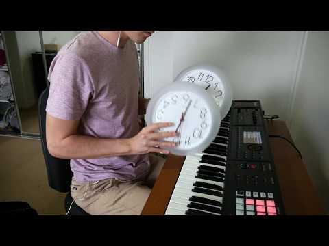 Clocks played with clocks Coldplay