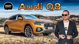 Audi Q8. Какво представлява топ моделът на марката?