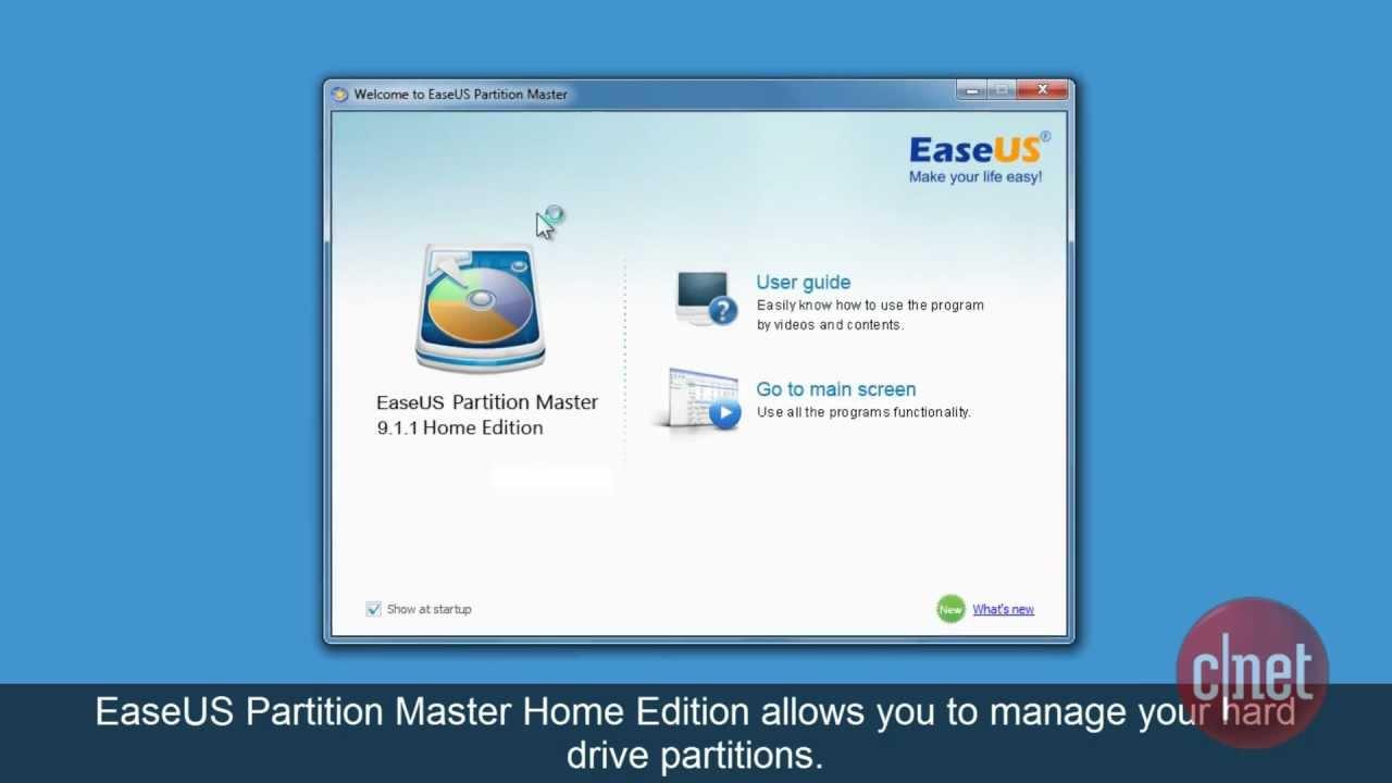 easeus partition master alternative