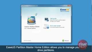 EaseUS Partition Master Home Edition - Manage and recover disk partitions - Download Video Previews