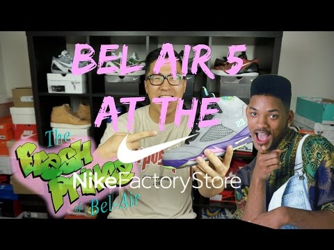 NIKE OUTLET STEAL STORY : JORDAN BEL AIR 5 FOR $90!!!