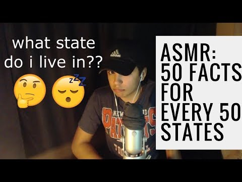 {ASMR} 50 FACTS FOR ALL 50 UNITED STATES
